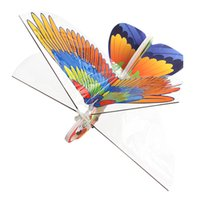 Wholesale remote control airplanes resale online - Electric Remote Controlled Paper Airplanes Conversion Kit Durable Parrot Shape Paper Airplane for Kids and Children