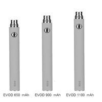 Wholesale evod vape atomizer resale online - battery vape EVOD Variable Voltage battery mAh mAh mAh evod twist eGo kit batteries for MT3 CE4 CE5 atomizer