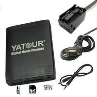 Wholesale car usb mp3 changer resale online - Yatour for C4 C5 USB MP3 Bluetooth Radio Adapter Digital Music Changer YT M06 AUX for C2 C3 C4 C5 C8 car