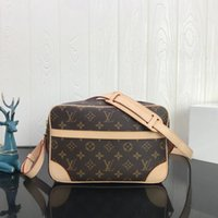 Wholesale long strap crossbody resale online - New women s handbags high end custom quality crossbody bag business casual style metal accessories with long shoulder strap