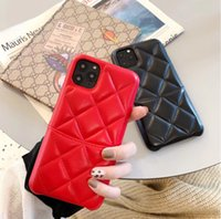 Wholesale iphone diamond pouch for sale – best DHL PU Leather Diamond Pattern High Class Case with Card Holder for Apple Iphone Iphone X Elegant Cover Two Colors Optional