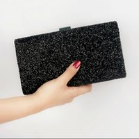 Wholesale crystal bow phone for sale - Group buy Rhinestone Women Luxury Gillter Evening Party Box Bag Diamond Female Clutch Crystal Day Wallet Wedding Purse