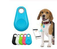 Wholesale mini dog collar resale online - Pet Smart GPS Tracker Mini Anti Lost Waterproof Bluetooth Locator Tracer For Pet Dog Cat Kids Car Wallet Key Collar Accessories