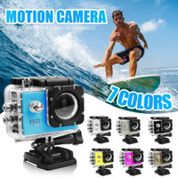 Wholesale sport camera waterproof case resale online - 1080P Waterproof Case WIFI Mini Action Cam HD DV Sports Recorder Camera