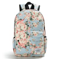 Wholesale school style fresh bags for sale - Group buy Miyahouse Floral Printing Backpack Women Canvas Travel Mochila School Bag For Teenager Girls Fresh Style Rucksack X0923