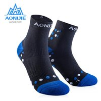 Wholesale performance socks for sale - Group buy AONIJIE Outdoor Sports Running Athletic Performance Tab Training Cushion Quarter Compression Socks Heel Shield Cycling