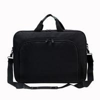 Wholesale hard briefcases for men resale online - Briefcase Bag Inch Laptop Messenger Bag Business Office for Men Women