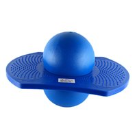 Wholesale balance board blue resale online - Kids Indoor Outdoor Space Hopper Balance Board Jumping Bouncy Pogo Ball Playground Sports Exercise Fitness Toy Blue