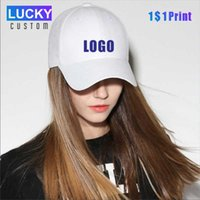 Wholesale hat companies resale online - LUCKY fashion new baseball cap mesh hat casual hat LOGO customization company group customization