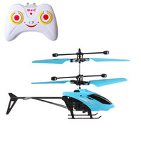 Wholesale helicopter remote control for sale - Group buy 2020 hot selling new children s toy wireless remote control aircraft mini fall resistant helicopter two way remote control aircraft