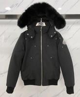 Wholesale mens hat styles resale online - New style Men Casual Down Jacket Down Coats Mens moose Outdoor Warm Man Winter Coat Outwear Jackets Parkas canada knuckles Doudoune