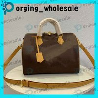 Wholesale ladies straw shoulder bag for sale - Group buy speedy handbag adies Messenger Bags Classic Style Fashion Bag Ladies Bag Shoulder Bags Ladies Handbag Speedy With Shoulder Strap Dust Bag LM