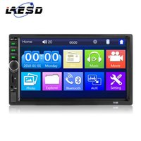 Wholesale android phones 7inch screens for sale - Group buy Car Audio Double Din DIN inch Touch screen Digital Media Stereo Built in Bluetooth Connect With Both And Android Phone