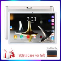 Wholesale New inch Tablet pc Android Quad Core G Call Support Google Wi Fi Bluetooth Dual SIM Camera D Steel Screen Tablet