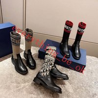 Wholesale boots large sizes for sale - Group buy 2019 sexy woman shoes in autumn and winter Knitted elastic boots lusso progettista Short boots socks boots Large size High heeled shoe