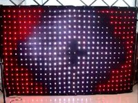 Wholesale led video curtains for sale - Group buy Dj Led Video Curtain Led Vision Curtain x2 Meters Rgb Smd Led Lamp Cloth With Sd Controller