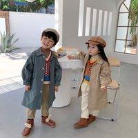 Kids Boy Fashion Trench Coat Boys Autumn Spring Warm Korean