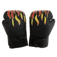 Wholesale training gloves for kids resale online - Kids Gel Boxing Kickboxing Training Gloves Gym Muay Thai Pouching Training Glove Mitts for Boys Girls