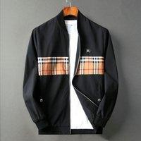 Wholesale motorcycle jack for sale - Group buy Designer men s jacket zipper jacket men s fashion print hair stylist casual designer windbreaker high quality fashion motorcycle jacket jack