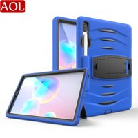 Wholesale samsung galaxy tab a 10.5 case resale online - Kids Safe Shockproof Layers Heavy Case For Samsung Galaxy Tab S6 T860 T865 T867 With Pencil Holder Tablet Cover