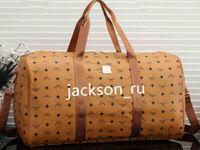 Wholesale luxury linen brands resale online - Hot brand men luxury women travel bag PU Leather duffle bag brand designer luggage handbags large capacity sports bag55 cm