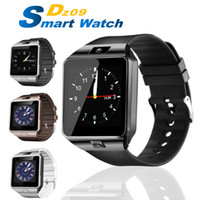 Wholesale watch for smartphone for sale – best DZ09 Smart Watch Portable Wristwatch Wristwatch SIM Watches TF Card for Iphone Samsung Android Smartphone Smartwatch PK Q18 V8