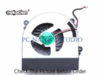 Wholesale work processor resale online - NOKOTION FOR Clevo W230SS W230ST W350ET W350STQ W370S W370ST AW15E Cooling Fan Cpu Cooler WORKING used