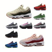 Wholesale 95 max resale online - High Quality Running Shoes Sneakers hook logo sports shoes max size comfortable soft sole