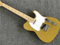 Wholesale best fingerboard resale online - Best Custom Shop NEW High Quality electric guitar with white Pickguard Maple Fingerboard Chrome Hardwares offer customized