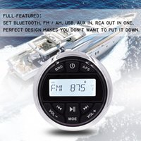 Wholesale media player for mp3 for sale - Group buy Waterproof Marine Audio Bluetooth Stereo Radio FM AM Receiver Outdoor Media Car MP3 Player For Boat ATV UTV RV Tractor Motorcycl