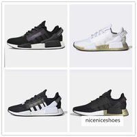 Wholesale xr1 nmd for sale - Group buy 2020 Aqua Tones Munich NMD R1 V2 Mens Running Shoes hu Human Race XR1 Pharrell Williams Core Black Men Women Sports Sneakers