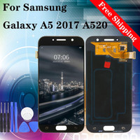 Wholesale price samsung galaxy online – custom 5 quot Hot Selling Factory Best Price Repair for Replacing LCD touch Screen for samsung galaxy A5 A520 display TFT Brightness adjustable