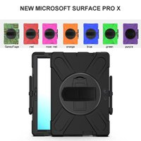 Wholesale surface pro 7 skin resale online - Shockproof Defender Case Best Armor Stand Cover For iPad mini quot Microsoft Surface Pro X samsung quot t510 Case Rotating