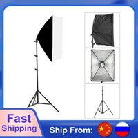 Wholesale studio equipment resale online - Photography Softbox Lighting Kits x70CM Professional Continuous Light System For Photo Studio Equipment