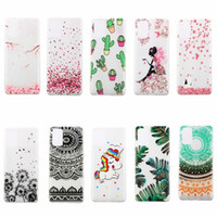 Wholesale samsung case for girls for sale – best Soft TPU Case For Samsung Galaxy Note Ultra A31 M31 Henna Paisley Mandala Blossom Lace Flower Unicorn Love Heart Cartoon Girl Fairy Cover