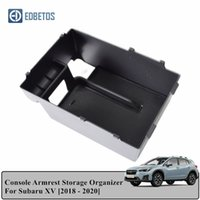 Wholesale armrest tray resale online - For For XV Accessories Armrest Storage Box Center Console Container Bin Tray Holder Stowing Tidying