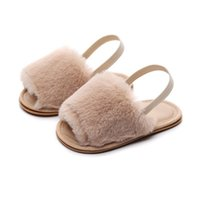 Wholesale 0 M toddler shoes baby children spring autumn slippers boys girls slip proof home Indoor soft soles Infant cloth shoes