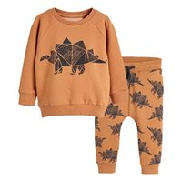 Wholesale jumping baby clothes for sale - Group buy Jumping meters Baby Boys Clothing Sets Autumn Winter Boy Set Sport Suits For Boys Sweater Shirt Pants Pieces Sets children