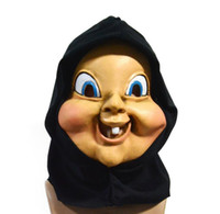 Men&Women Natural latex Happy Halloween death day latex masks dance party on the horror mask cosplay