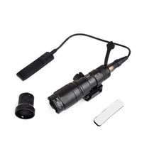 Airsoft Tactical SF M300 Mini Scout Light 250lumen tactical flashlight with remote switch tail mount for 20MM Weaver Rail