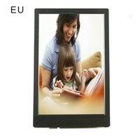 Wholesale photo frame digital resale online - 1080T Picture Frame Inch Electronic Digital Photo Frame Ips Display With Ips Lcd P Mp3 Mp4 Video Player
