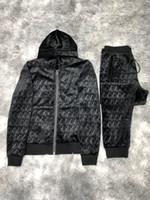 Wholesale 20ss Designer Tracksuit Men Luxury Sweat Suits Autumn Brand Mens Jogger Suits Jacket Pants Sets Sporting Suit Hip Hop Sets High Quality