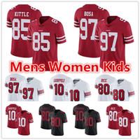 Wholesale 49er jerseys for sale - Group buy Mens Women Youth San Francisco er Jersey Jerry Rice George Kittle Jimmy Garoppolo Nick Bosa Richard Sherman Football Jerseys