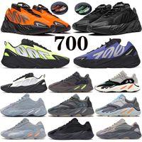 700 V2 Running shoes Orange Reflective Triple Black Phosphor Bone static carbon blue OG Solid Grey mens women runner Sneaker trainers