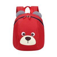 Wholesale children bear backpack resale online - 2019 Age Toddler backpack Anti lost kids baby cute animal dog children backpack kindergarten bear school bag mochila T2