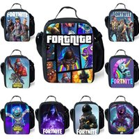 Wholesale A001 Anime Prints Thermal Insulate Lunch Bags Men Boys Portable Cooler Lunch Box Picnic Girl Women Backpack