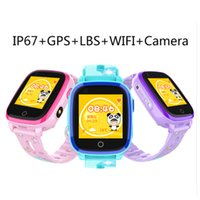 Wholesale smart watch ios wifi online – DF33Z Waterproof G Child Smart Watch Camera GPS WIFI Students Kids Children Smartwatch SOS Video Call Monitor Tracker DF33