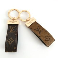 Wholesale girl boy openers resale online - Luxury Keychain High Qualtiy Key Chain Key Ring Holder Brand Designers Key Chain Porte Clef Gift Men Women Car Bag Keychains