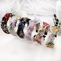 Wholesale womens wide wedding band for sale - Group buy 1pc Crown Womens Hair Accessories Gift Lace Headdress Hair Accessories Embroidery Chinese Style Korea Wide Side Band