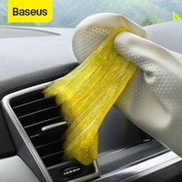 Wholesale soft vents for sale - Group buy Baseus Car Cleaner Glue Gum Air Vent Outlet Dashboard Cleaning Tool Dust Dirt Keyboard Clean Vacuum Cleaner Soft Gel